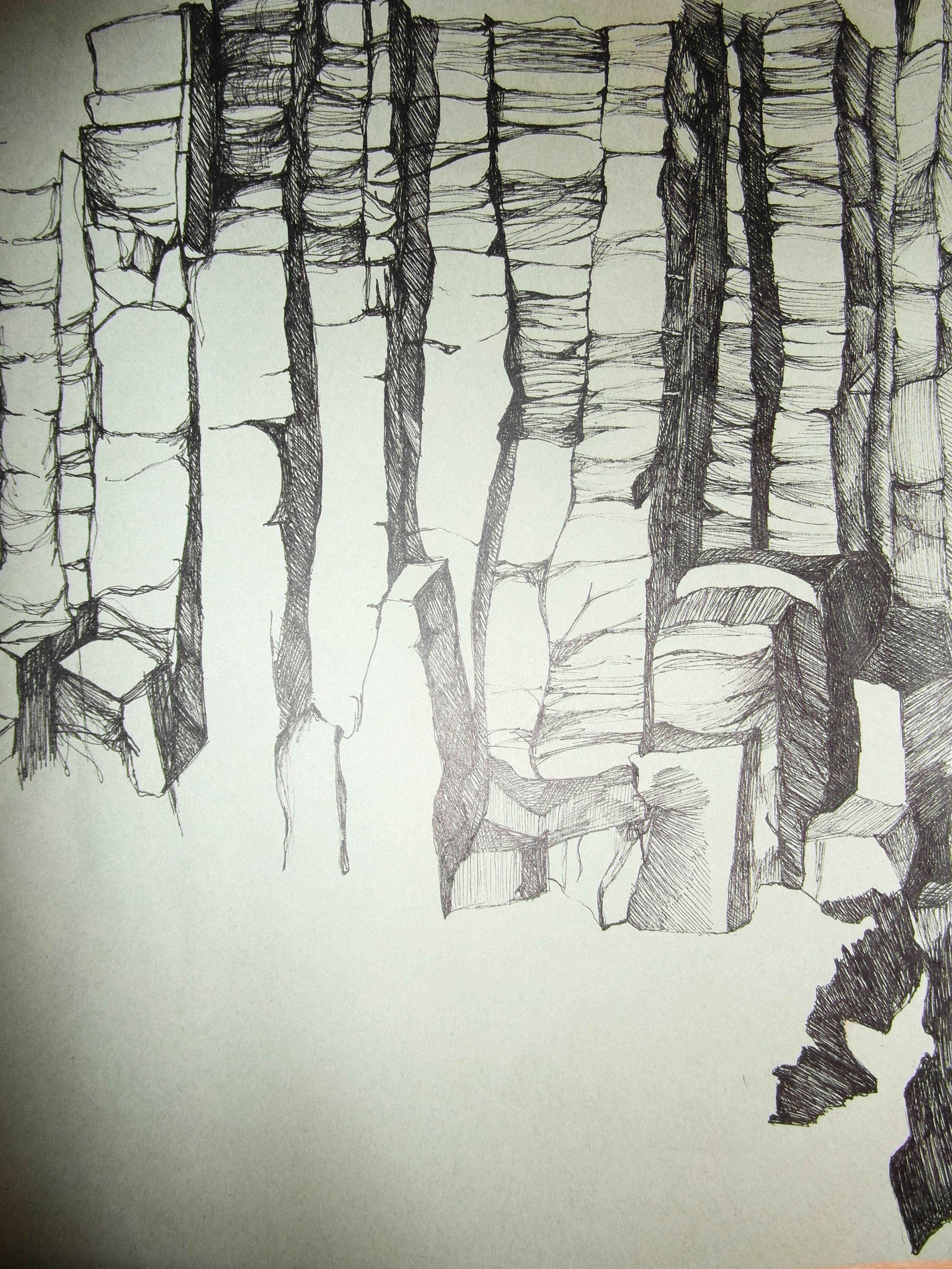 Another peek in the sketchbook! – Laura Speirs