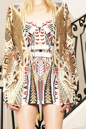 la-modella-mafia-Balmain-Resort-2012-Tribal-Print-Shopping-Inspiration-2